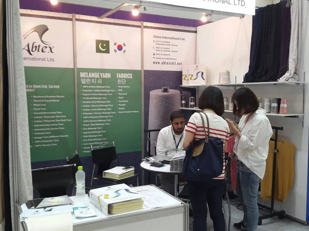 Preview in Seoul 2015 - Abtex International Ltd. Booth